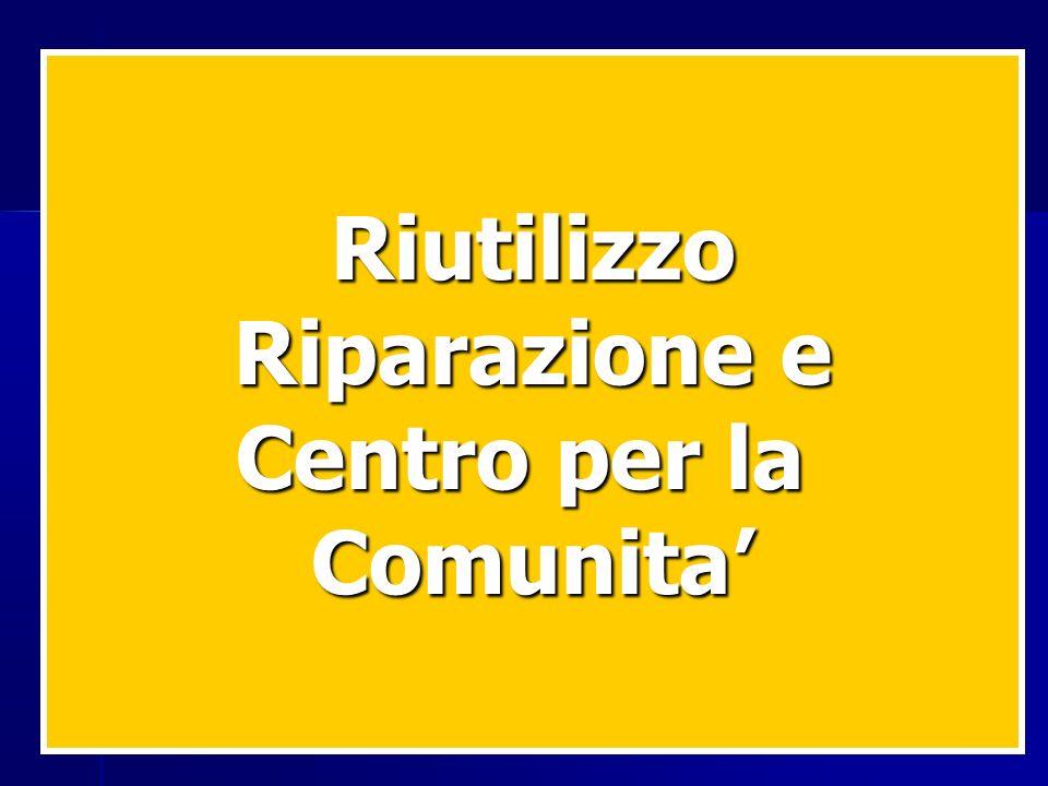 Riutilizzo Riparazione e Centro per la Comunita