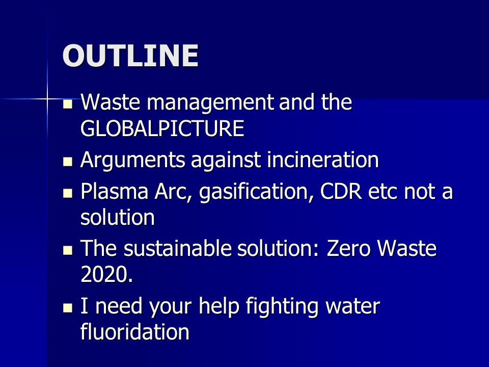 Estrazione di dimaterieprimeProduzionedioggettiConsumoRifiuti ENERGY ENERGY GLOBAL WARMING Rifiuti Solidi Inquinamento dellaria Inquinamento dellacqua Anidride carbonica How do waste handling practices change this situation.
