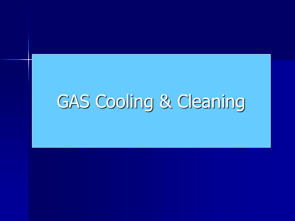 GAS Cooling & Cleaning