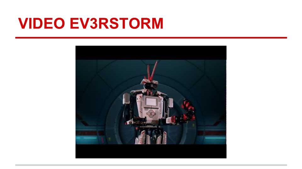 VIDEO EV3RSTORM