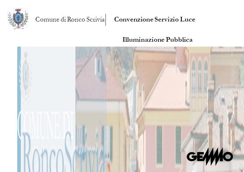 Comune di Ronco ScriviaConvenzione Servizio Luce Illuminazione Pubblica