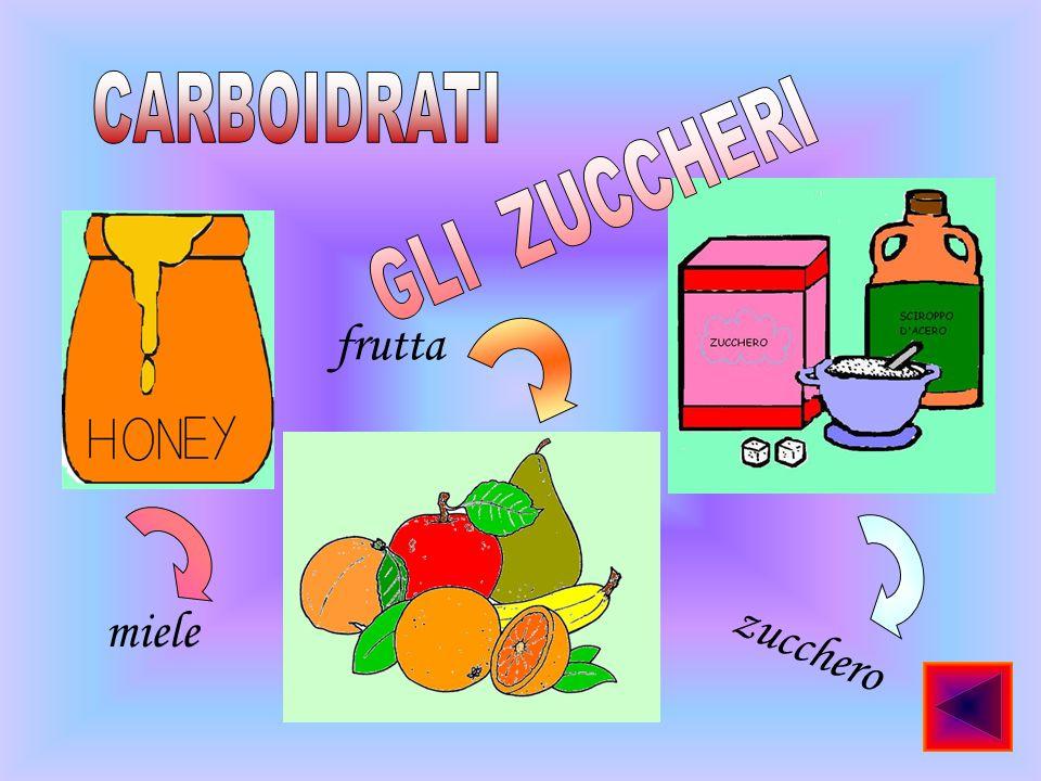 miele z u c c h e r o frutta