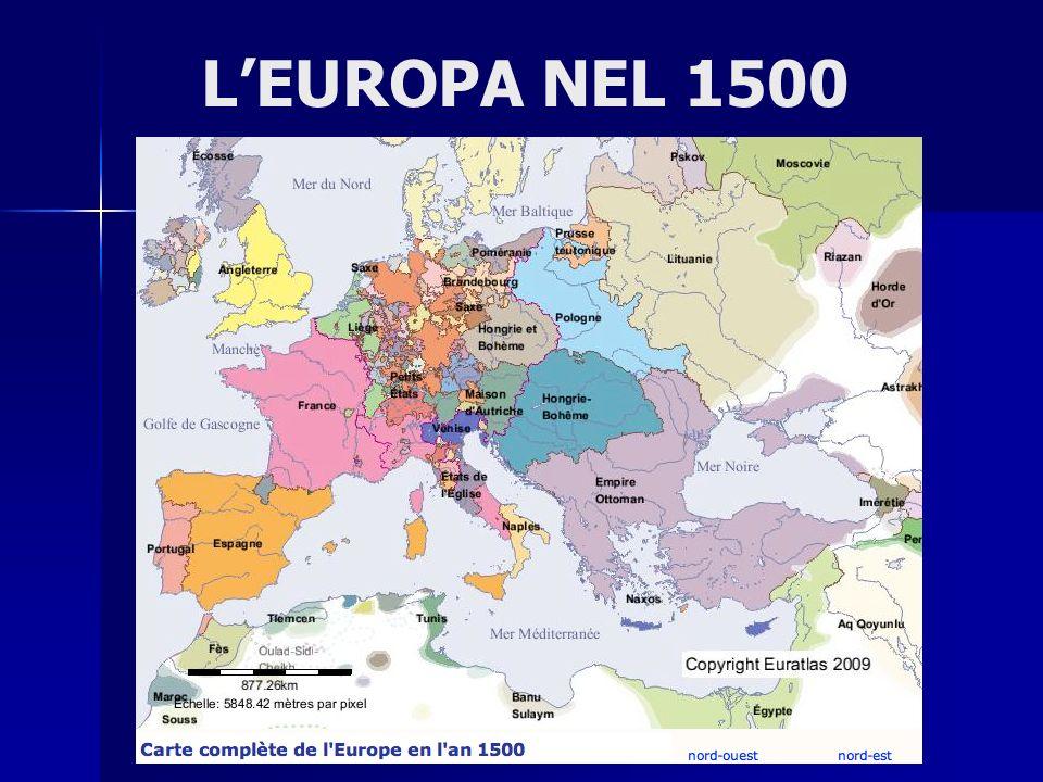 LEUROPA NEL 1500