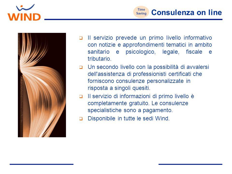 Consulenza on line Il servizio prevede un primo livello informativo con notizie e approfondimenti tematici in ambito sanitario e psicologico, legale, fiscale e tributario.