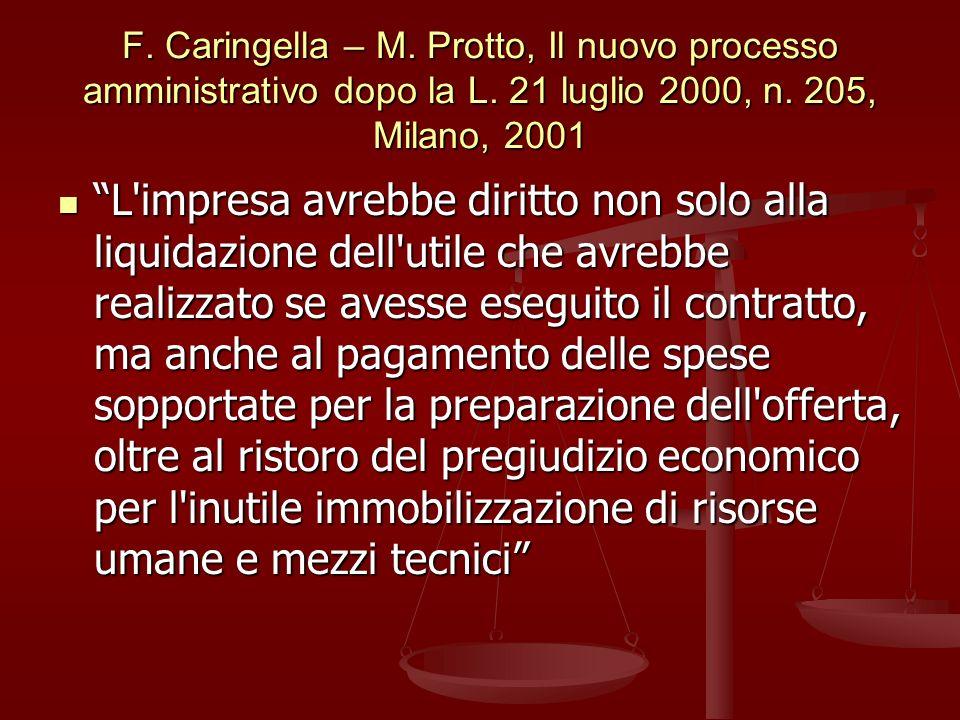 F.Caringella – M. Protto, Il nuovo processo amministrativo dopo la L.