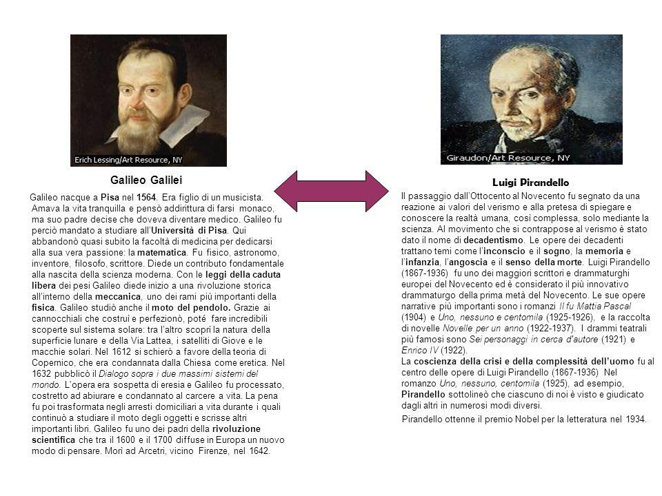 Luigi Pirandello Il passaggio dallOttocento al Novecento fu segnato da una reazione ai valori del verismo e alla pretesa di spiegare e conoscere la realtà umana, così complessa, solo mediante la scienza.