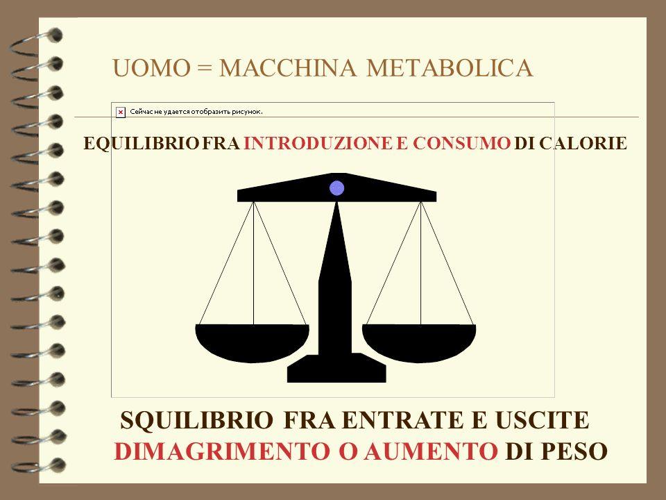 OLIO EXTRAVERGINE (polifenoli, vitamina E) FRUTTA E ORTAGGI COLORE ARANCIONE (carotenoidi) CRUCIFERE (isotiocianati,indoli, diltitioni) AGRUMI (cumarine e limonene) POMODORI (licopene) BULBI (composti solforati, alliene e derivati) ANTIOSSIDANTI NATURALI SOSTANZE CHE BLOCCANO O INIBISCONO IL PROCESSO DI OSSIDAZIONE VINO (polifenoli)