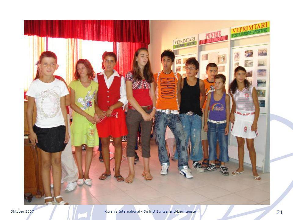 Oktober 2007Kiwanis International - District Switzerland-Liechtenstein 21