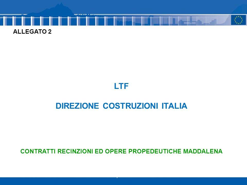 1 LTF DIREZIONE COSTRUZIONI ITALIA CONTRATTI RECINZIONI ED OPERE PROPEDEUTICHE MADDALENA ALLEGATO 2