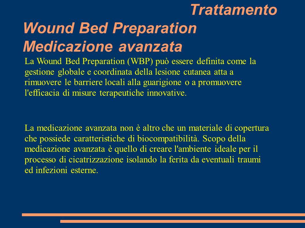 Trattamento Wound Bed Preparation Medicazione avanzata La Wound Bed Preparation (WBP) può essere definita come la gestione globale e coordinata della