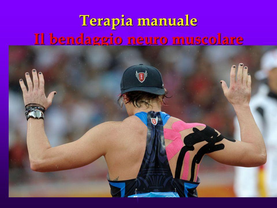 Terapia manuale Il bendaggio neuro muscolare Il bendaggio neuro muscolare è un approccio correttivo neuro-biomeccanico che facilita la circolazione sa