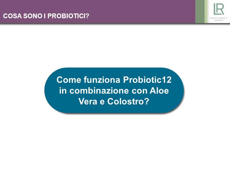 COSA SONO I PROBIOTICI? Come funziona Probiotic12 in combinazione con Aloe Vera e Colostro?