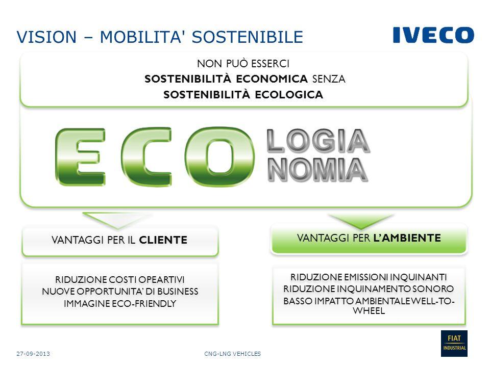 CNG-LNG VEHICLES09-10-2013 13 Influiscono sul costo kilometrico: Consumo specifico Potere calorifico superiore Efficienza della combustione Densità Costo del combustibile