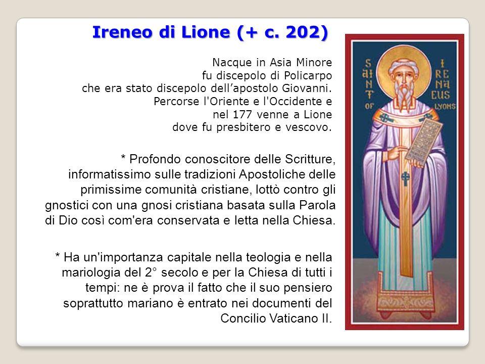 Ireneo di Lione (+ c.