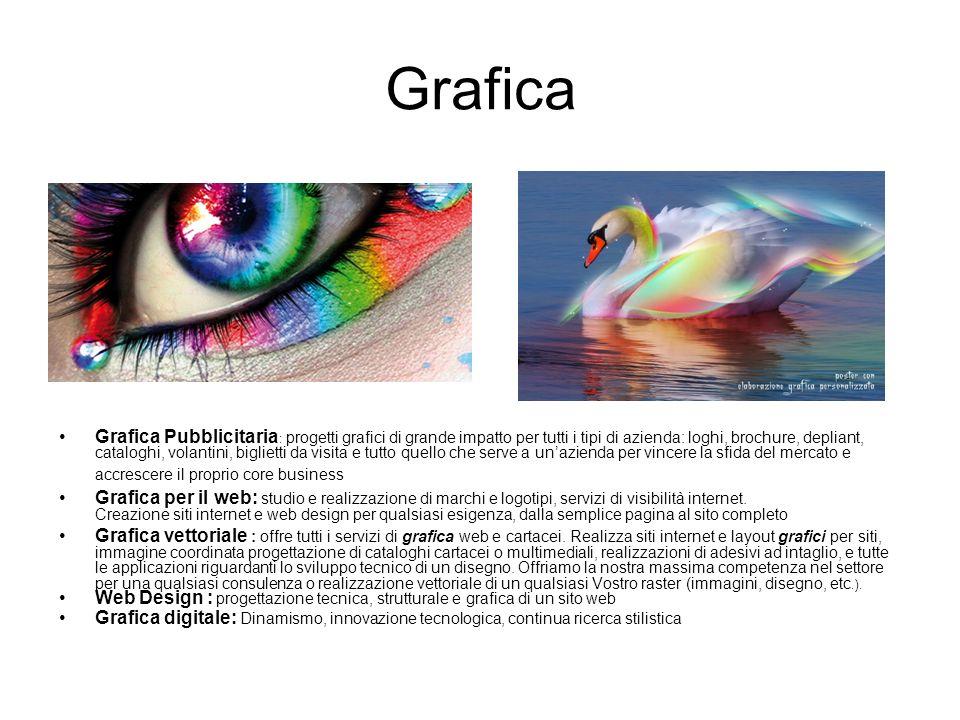 Grafica Grafica Pubblicitaria : progetti grafici di grande impatto per tutti i tipi di azienda: loghi, brochure, depliant, cataloghi, volantini, bigli
