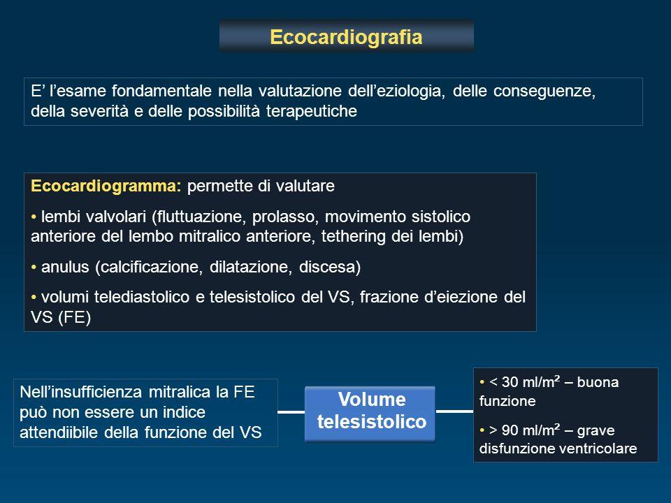 Ecocardiografia E lesame fondamentale nella valutazione delleziologia, delle conseguenze, della severità e delle possibilità terapeutiche Ecocardiogra