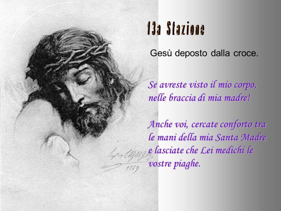 Gesù muore sulla croce. Io sono morto, ho dato la mia vita; vi ho sempre amato. Quando la tua vita si fermerà che sia in un grido di amore. Io sono se