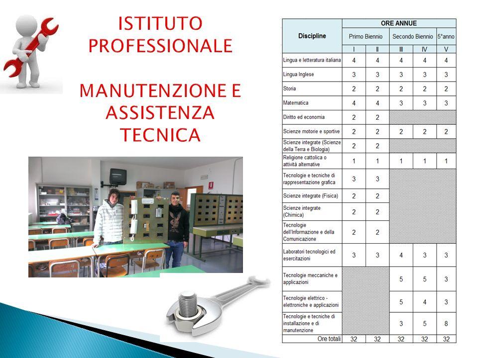 Gestire, organizzare ed effettuare interventi di installazione e manutenzione ordinaria, di diagnostica, di riparazione e collaudo di piccoli sistemi, impianti e apparati tecnici.