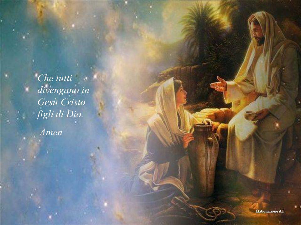Che il Vangelo sia predicato a tutti. Che venga accolto docilmente.