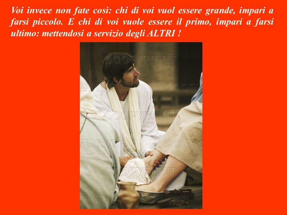 Intanto gli altri dieci apostoli avevano capito tutto, così cominciarono ad indignarsi contro Giacomo e Giovanni: accusandoli di volersi accaparrare i