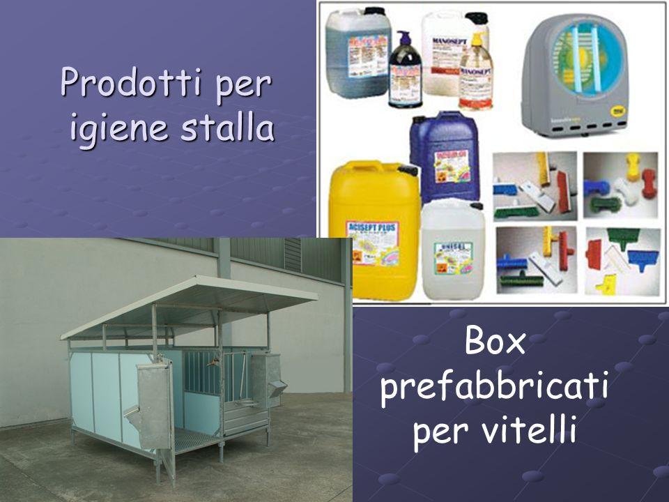 Prodotti per igiene stalla Box prefabbricati per vitelli