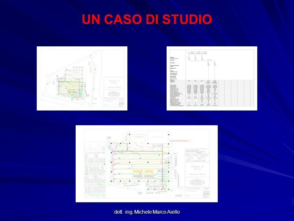 dott. ing. Michele Marco Aiello UN CASO DI STUDIO