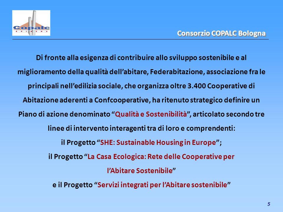 5 Di fronte alla esigenza di contribuire allo sviluppo sostenibile e al miglioramento della qualità dellabitare, Federabitazione, associazione fra le