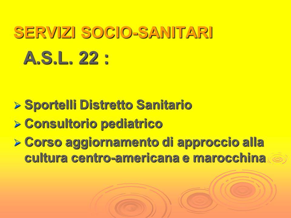 SERVIZI SOCIALI CONSORZIO SERVIZI SOCIALI Servizio Sociale Professionale Segretariato Sociale Assistenza Economica S.F.D. Numero Verde Progetto per ri