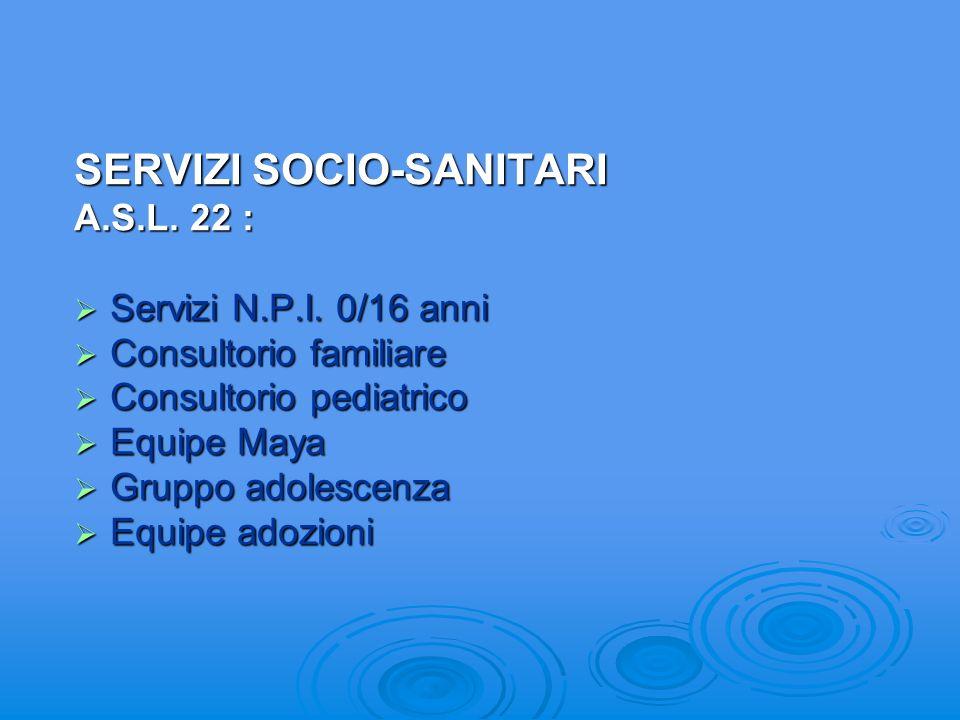 SERVIZI SOCIALI CONSORZIO SERVIZI SOCIALI CONSORZIO SERVIZI SOCIALI Servizio Sociale Professionale Servizio Sociale Professionale Segretariato Sociale
