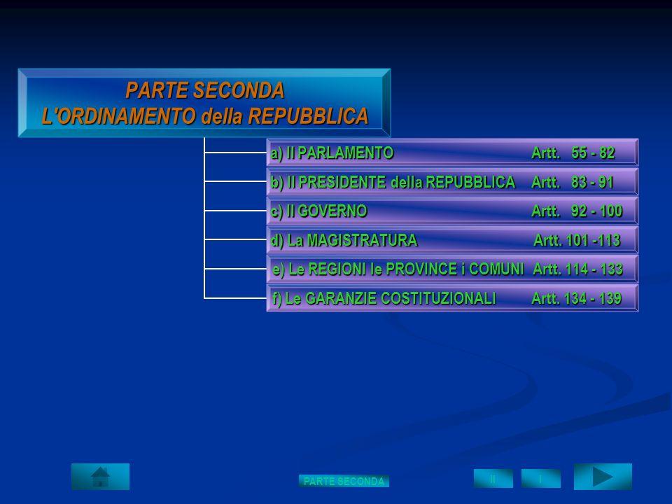 PARTE SECONDA I II