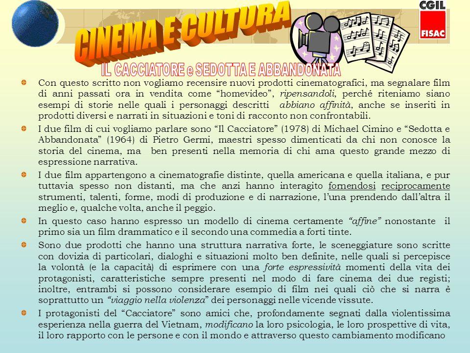 Con questo scritto non vogliamo recensire nuovi prodotti cinematografici, ma segnalare film di anni passati ora in vendita come homevideo, ripensandol