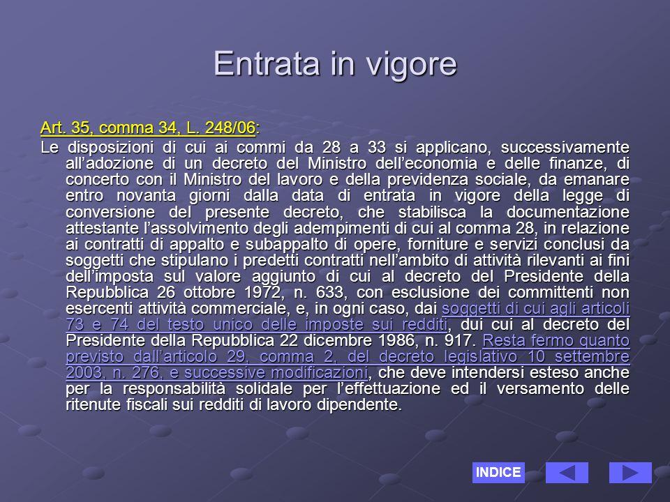 Orientamento DRL ABRUZZO 22/08/06 Soggetti di cui agli artt.