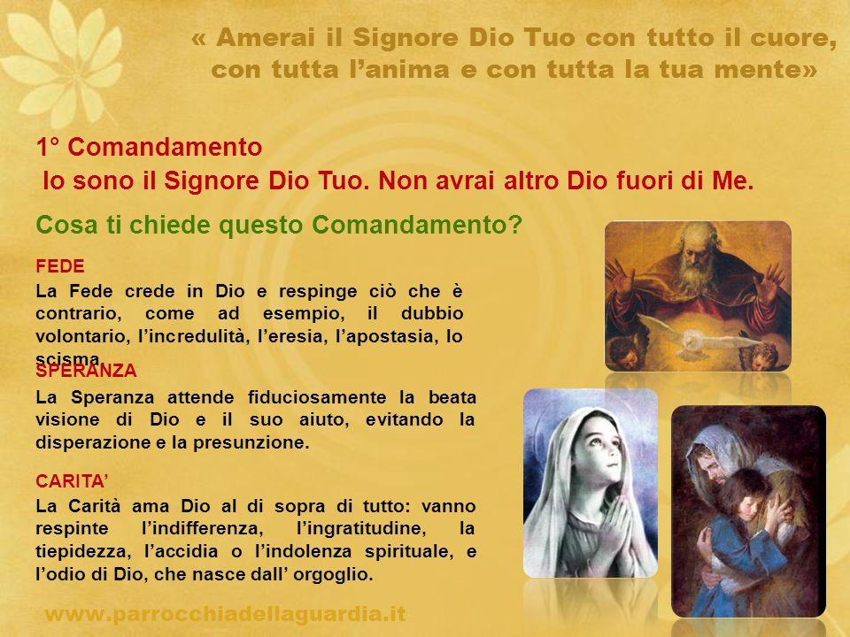 ritardo « Amerai il prossimo tuo come te stesso » 6° Comandamento Non commettere Adulterio (Es.