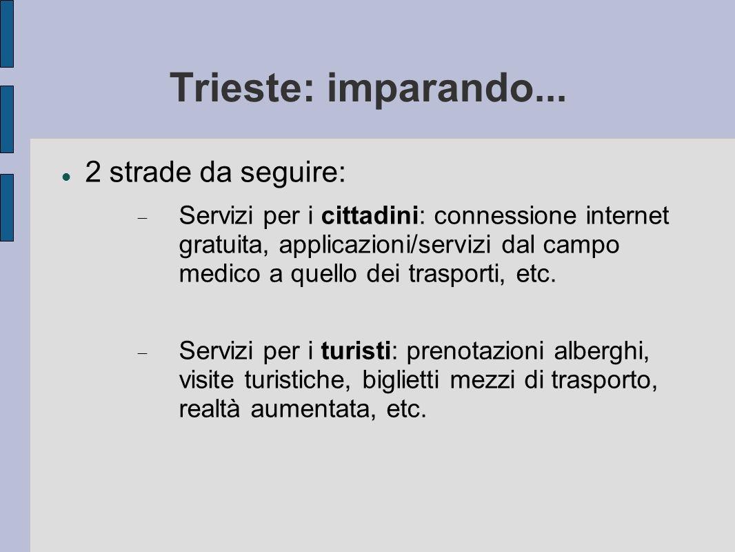 Trieste: imparando...