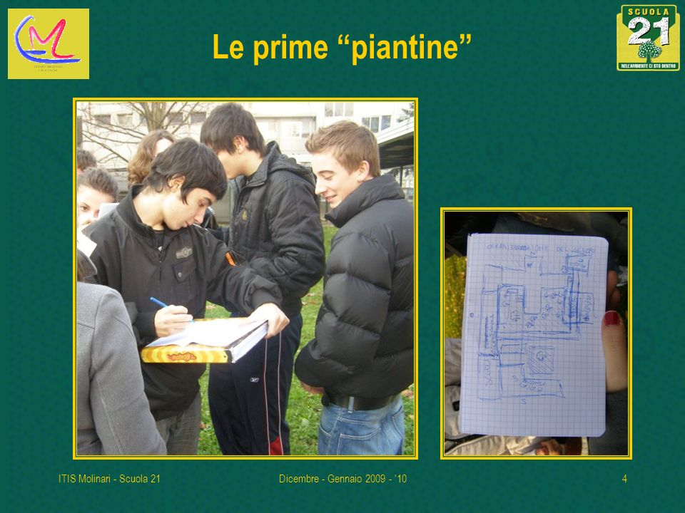 ITIS Molinari - Scuola 21Dicembre - Gennaio 2009 - '104 Le prime piantine