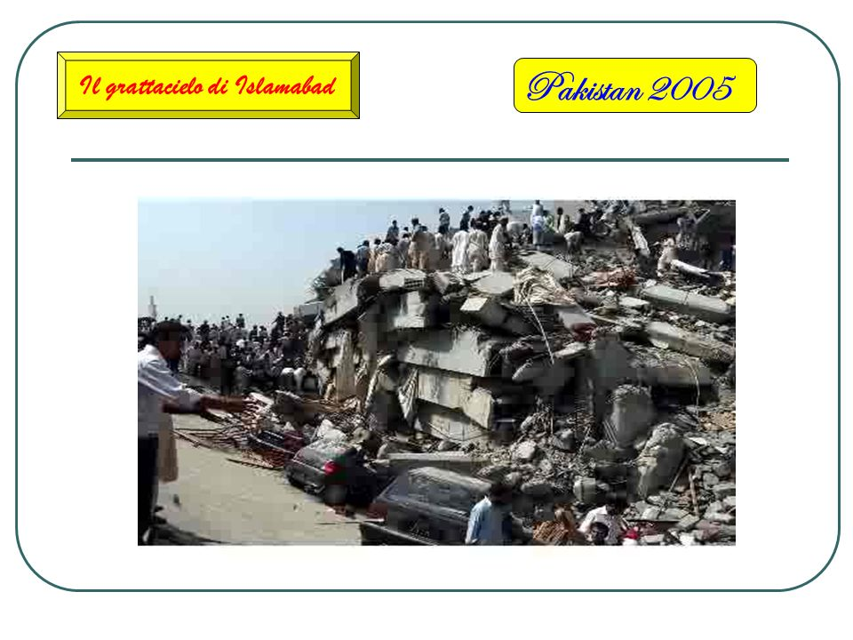 Pakistan 2005 La Cittadina di Balakot Completamente rasa al suolo