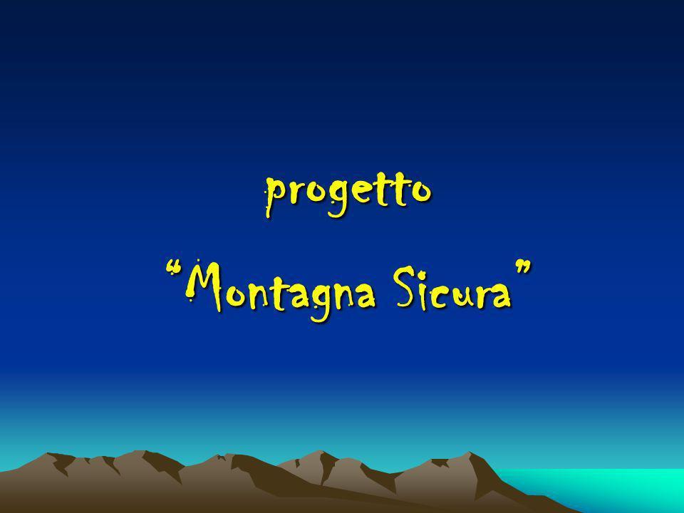 progetto Montagna Sicura