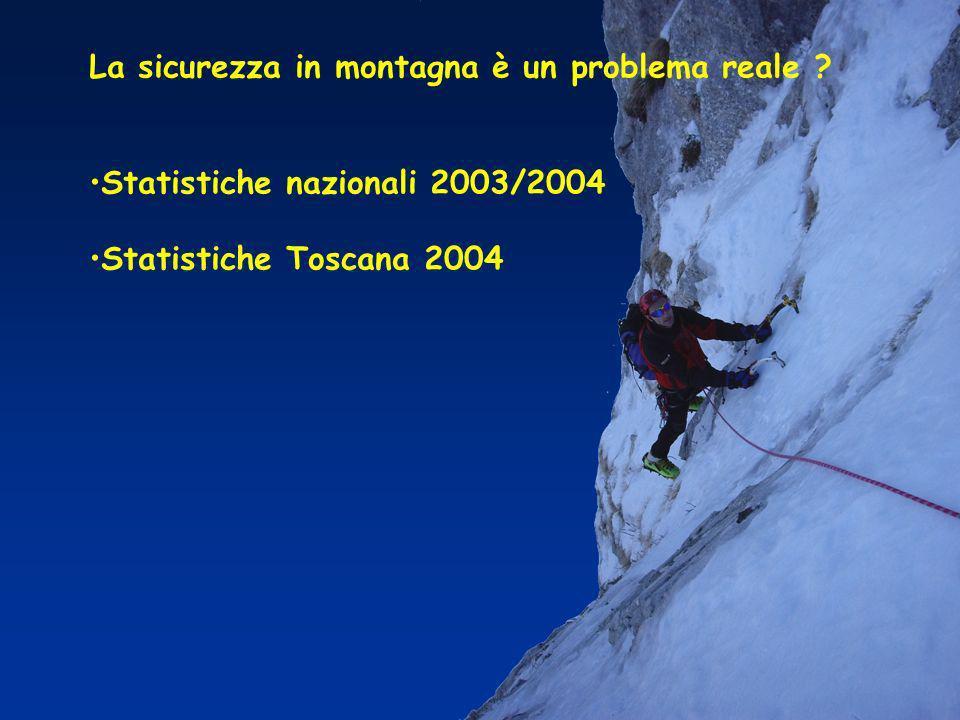 La sicurezza in montagna è un problema reale .