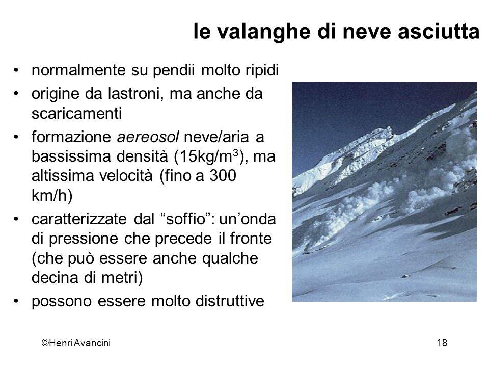 ©Henri Avancini19 Quando cadono le valanghe.