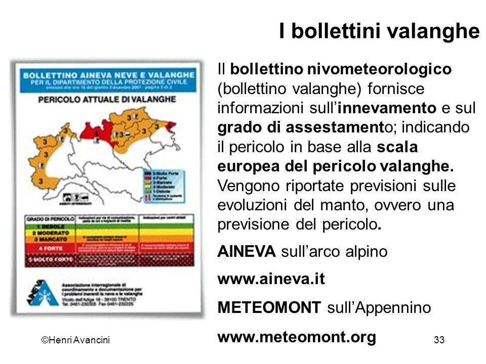 ©Henri Avancini34 Lezione Condizione Climatiche Neve Valanghe Stabilita Incidenti ARVA e Autosoccorso Organizzazione prima uscita: Abetone