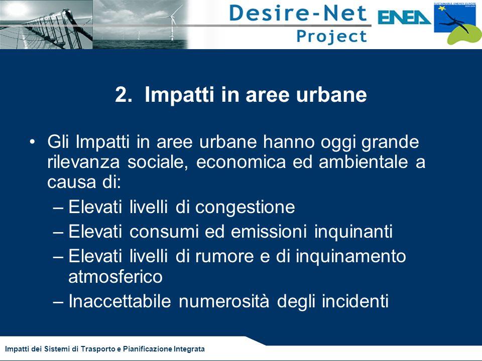 Impatti dei Sistemi di Trasporto e Pianificazione Integrata 2.