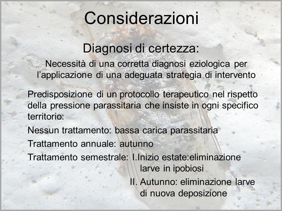 Considerazioni Diagnosi di certezza: Necessità di una corretta diagnosi eziologica per lapplicazione di una adeguata strategia di intervento Predispos