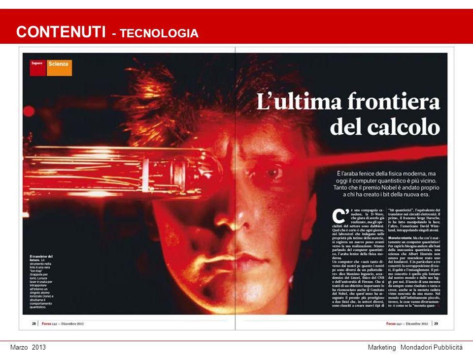 Marketing Mondadori PubblicitàMarzo 2013 CONTENUTI - ECONOMIA