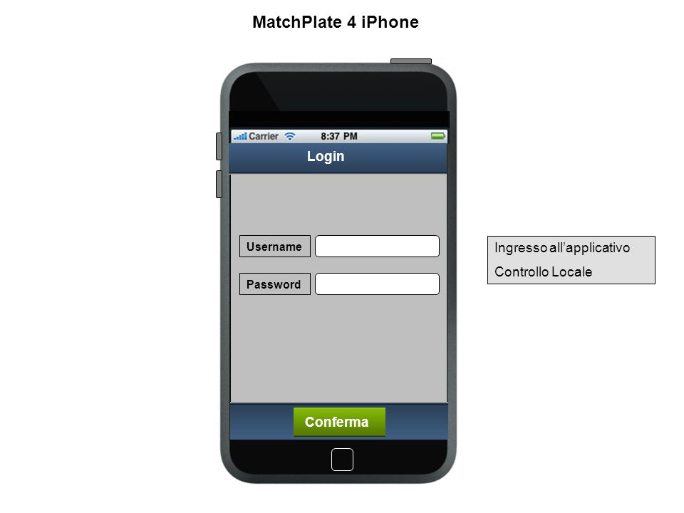 Locations Location 1 Locations Location 2 Location 3 Location 4 Location 5 > > > > > Messaggi MatchPlate 4 iPhone Gestione Locations dove sono installati i MatchPlate Trasferimerto area messaggi