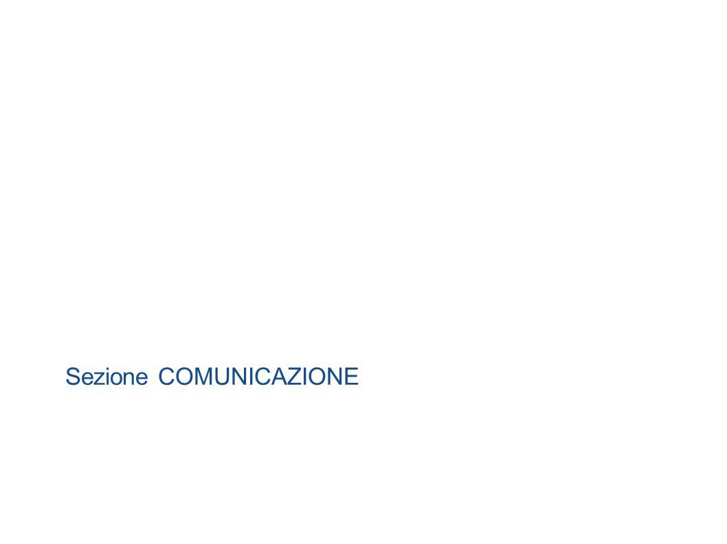 Sezione COMUNICAZIONE