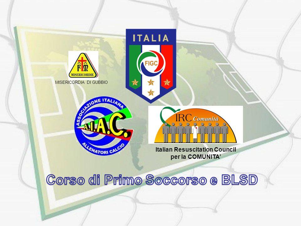 Italian Resuscitation Council per la COMUNITA MISERICORDIA DI GUBBIO