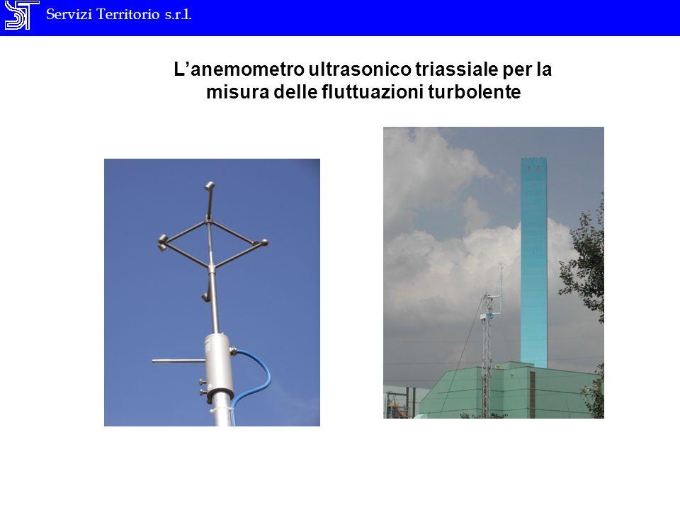 Servizi Territorio s.r.l. Lanemometro ultrasonico triassiale per la misura delle fluttuazioni turbolente