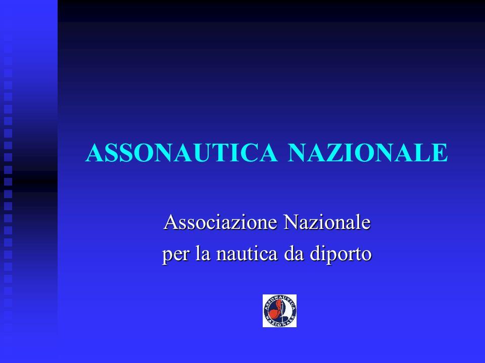 ASSONAUTICA NAZIONALE Associazione Nazionale per la nautica da diporto