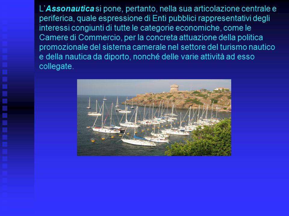 LAssonautica si pone, pertanto, nella sua articolazione centrale e periferica, quale espressione di Enti pubblici rappresentativi degli interessi cong