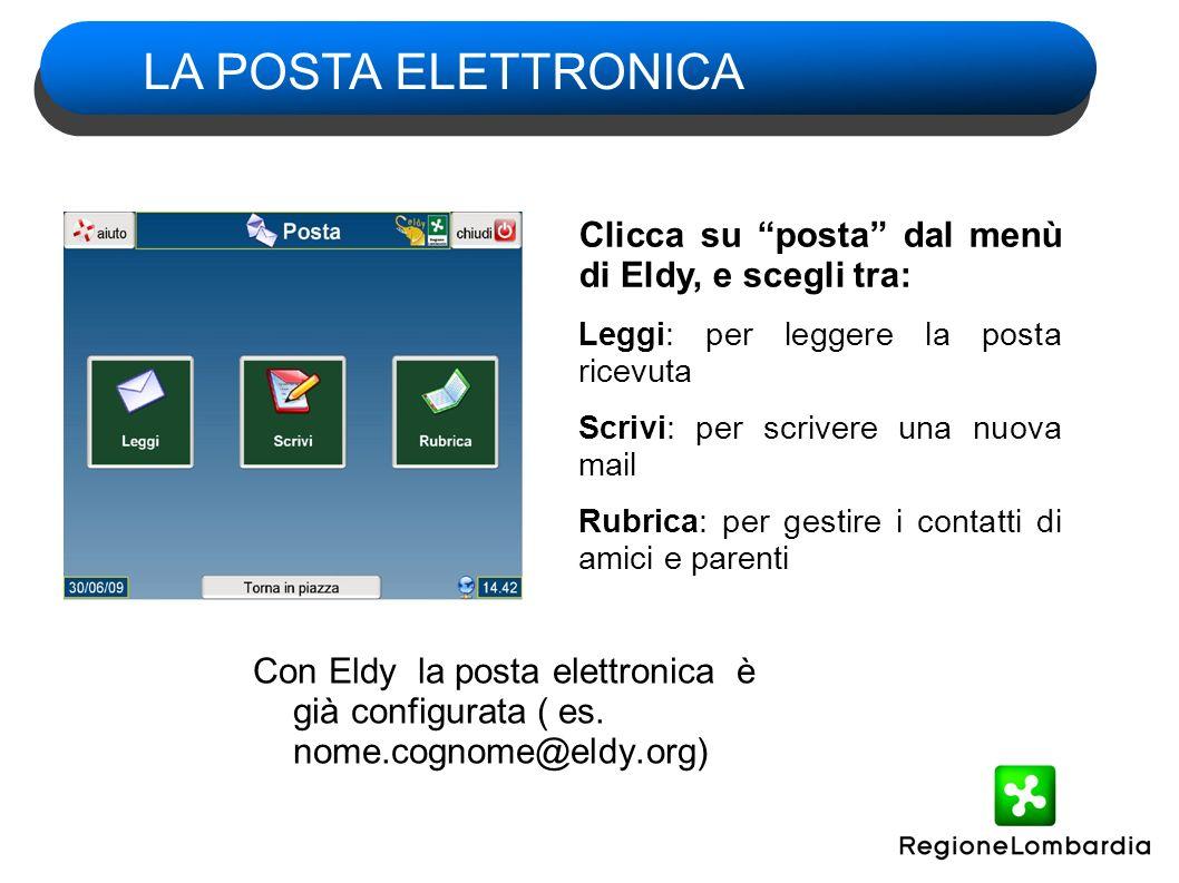 Con Eldy la posta elettronica è già configurata ( es.